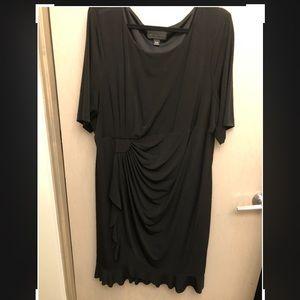 Connected Woman Faux Wrap Dress 24W